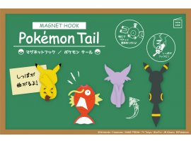 預訂 9月 TOYO Case Magnet Hook Pokemon Tail Pikachu / Magikarp / Espeon / Umbreon Male