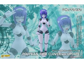 預訂 4月 日版  Daibadi Production Polynian FMM三葉草更新版本(已完成)FMM Clover Update Ver. Complete Model Action Figure