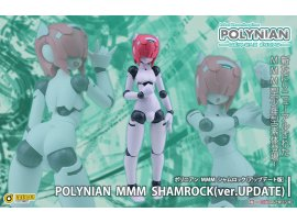 日版  Daibadi Production  MMM Shamrock更新版本(已完成)Polynian FMM Clover Update Ver. Complete Model Action Figure