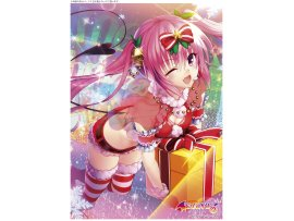 "日版 Kentaro Yabuki ""To Love-Ru Darkness娜娜·阿絲達·戴比路克 A3 Clear Poster Nana   Christmas Ver 掛晝"