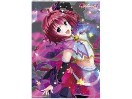 "日版 Kentaro Yabuki ""To Love-Ru Darkness""黑咲芽亞 A3 Clear Poster Mea  Hoshizora Live Ver 掛晝"