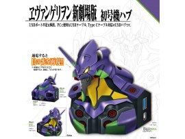 """預訂 9月 日版  Tops 新世紀福音戰士 初號機 USB  electroys """"Evangelion: 1.0 You Are (Not) Alone."""" Evangelion EVA-01 USB Hub Pre-order"""