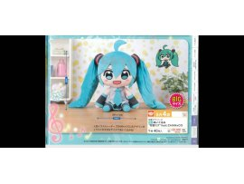 SEGA PROJECT DIVA MIKU 初音未來 BIG 超巨大 DOLL OR TOY 大眼毛公仔 景品