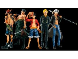 一番抽!海外限定! THE BEST EDITION  全新未開封 路飛 卓洛 山治 羅 艾斯 海賊王 One Piece 景品